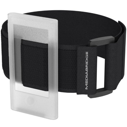 Armband for iPod Nano - 7th Generation / 8th Generation ( Clear ) - Model AB1 by Mediabridge (Part# AB1-IPN7-CLEAR )