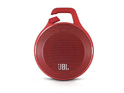JBL Clip Portable Bluetooth Speaker With Mic, Red