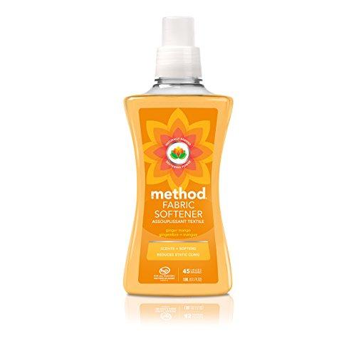 Method Fabric Softener, Ginger Mango, 53.5 Ounces, 45 Loads