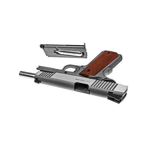 Cybergun Colt 1911 Rail Gun Stainless Co2 Réplique puissance 0.5 joules 4