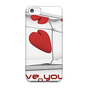 MMZ DIY PHONE CASEJeA1476oYoh Case Cover Protector For ipod touch 5 Love You Simply Case