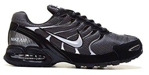 separation shoes c4898 92fbb Amazon.com  Nike Mens Air Max Torch 4 Running Shoes (14,  Anthracite Metallic Silver Black)  Sports   Outdoors