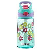 Contigo AUTOSPOUT Straw Striker Kids Water Bottle, 14oz, Ultramarine