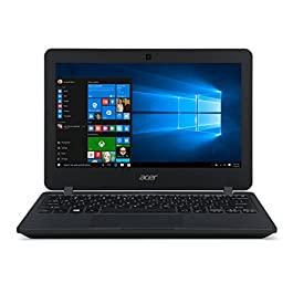 Acer High Performance 11.6inch HD Laptop, Intel Celeron Processor, 4GB RAM, 64GB Storage, Intel HD Graphics, WiFi, Bluetooth, HDMI, Win10 Pro (Renewed)