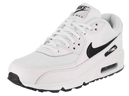 sale retailer 0d9e2 c02d6 Galleon - NIKE Women s Air Max 90 White Black Running Shoe 6.5 Women US
