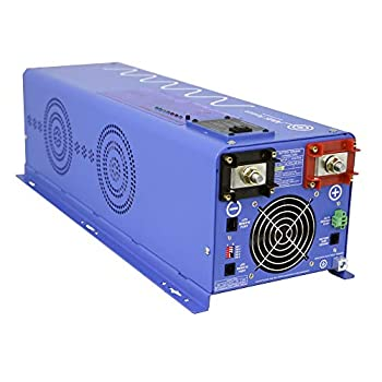 Image of Power Inverters AIMS Power 4000 Watt Pure Sine Inverter Charger 48Vdc & 240Vac Input to 120 & 240Vac Split Phase Output 50 or 60 Hz