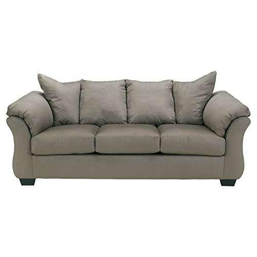 (Signature Design by Ashley 7500538 Darcy Sofa, Cobblestone)