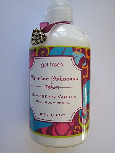 Get Fresh Warrior Princess Rich Body Crème, BlackBerry Vanilla