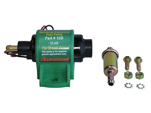 (Autobest 12D Externally Mounted Universal Diesel Electric Fuel Pump)