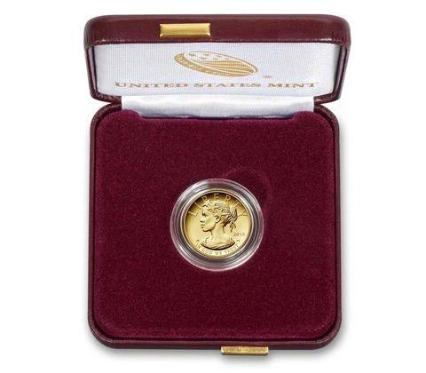 2018 W American Liberty 1/10 oz Fine Gold Ten Dollar $10 Proof