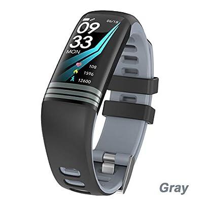 ZCPWJS smart wristband G26 Plus Smart Bracelet Color Screen Fitness Activity Tracker Waterproof Smart Wristband Blood Pressure Smart Band Gray Estimated Price £38.73 -