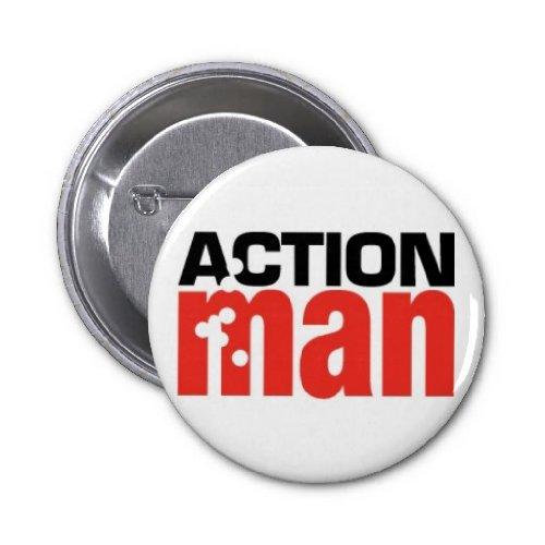 Action Man Pin Badges