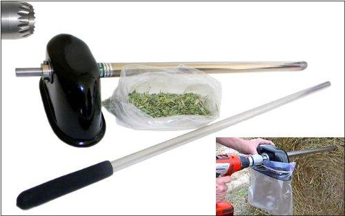 Hay Bale Sampler Probe, 18'' Depth, Drill-Type