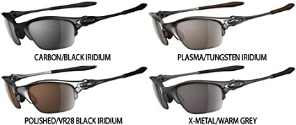 4b7a620cd8f1 Image Unavailable. Image not available for. Color: Oakley Half X Men's  Active Lifestyle X Metal Racewear Sunglasses ...