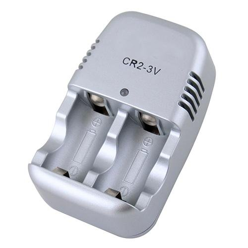 Portable Home Wall Charger for CR2 3.0v Rechargeable Battery 300mA