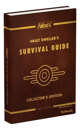 Fallout 4 Vault Dweller's Survival Guide Collector's Edition: Prima Official Game - Card Box Trading Retail