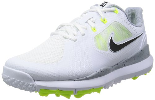 hot sale online 8516c a7378 Nike Golf Men s Tw  14 Mesh High Performance Golf Shoe,White Volt Wolf Grey Black,11  M US - Buy Online in UAE.   Shoes Products in the UAE - See Prices, ...