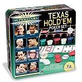 Poker Super Stars Invitational Tournament - Texas Hold 'Em Poker Set