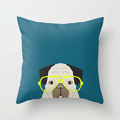Dogs Pillowcover Best For Couch Shop Couples Home Theater Her Dance Room 16 X 16 Inches / 40 By 40 Cm(twice Sides)
