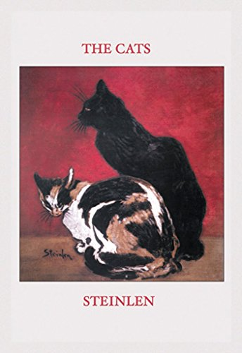 ArtParisienne The Cats Théophile Steinlen 20x30 Poster Semi-Gloss Heavy Stock Paper Print