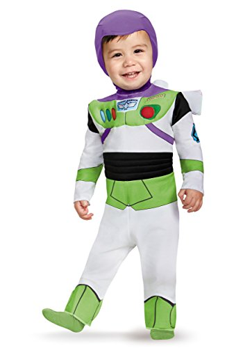 Disguise Costumes Buzz Lightyear Deluxe Costume (Infant), 12-18 (Buzz Lightyear Costumes For Boys)