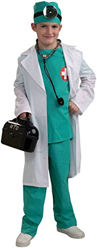 Forum Novelties Chief Surgeon Doctor Child Costume, Medium for $<!--$22.96-->
