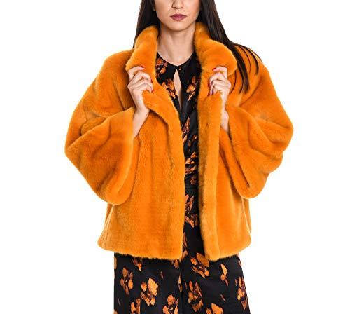 Venus Acrílico Naranja Mujer Abrigo 602cccurry rYArxqTaw