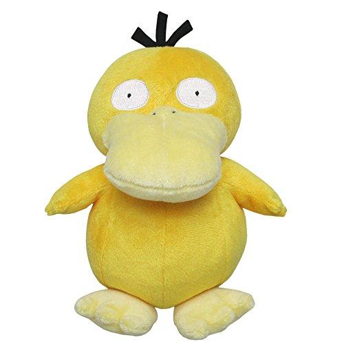 Sanei Pokemon All Star Series Psyduck Stuffed Plush, - Psyduck Pokemon