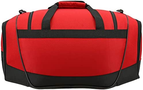 adidas Womens Defender III small duffel Bag One Size Red