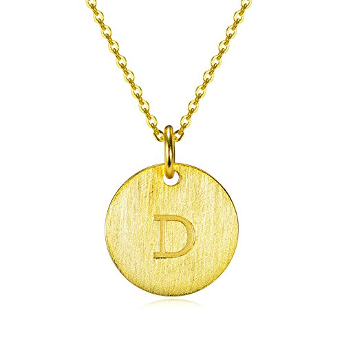 YFN Gold Filled Alphabet Personalized Necklace