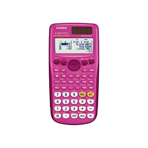 Casio FX 300 Scientific Calculator - Pink (300PK-BTS1)