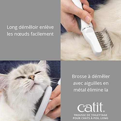 Cat It Kit de toilettage pour chats à poils longs