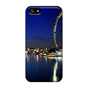 Hot SzWPCzS-11464 Case Cover Protector For Iphone 5/5s- London Eye