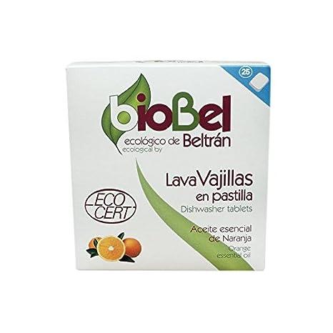 Biobel Pastillas Lavavajillas - 25 Unidades: Amazon.es: Salud y ...