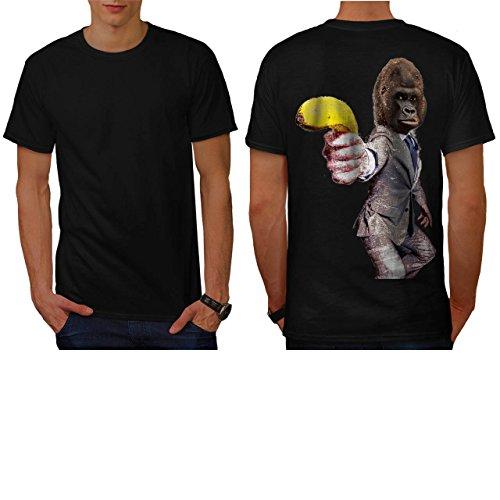 [Funny Gorilla Suit Monkey Banana Men NEW M T-shirt Back | Wellcoda] (Bear Jew Costume)