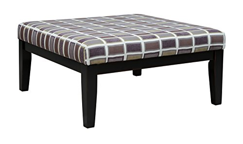 Benchcraft - Larkhaven Contemporary Oversized Accent Ottoman - Amber