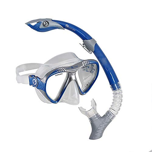 Pro Series Magellan Mask & Atlantis Snorkel Blue 1001955