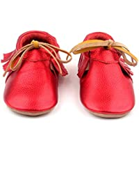 Anti-Slip Baby Moccasins for Infant & Toddlers, Boys & Girls, Baby Shoes