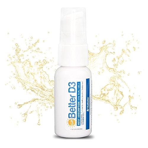 (VitaBetter Vitamin D3 for Kids - Non GMO - Organic - 100% Vegan - Soy Free - Cruelty Free - Dairy Free - 30 Servings - 2500 IU K2 Liquid Drops - USA Made - Maximum Absorption and Bioavailability)