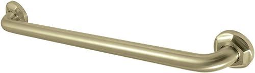 Kingston Brass DR714247 Metropolitan 24 Decorative Grab Bar, Brushed Brass