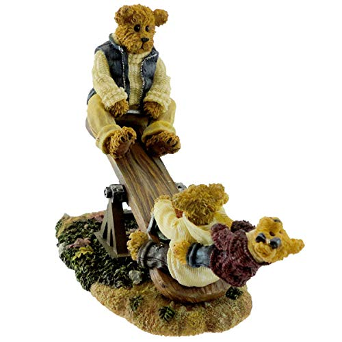 Boyds Bears Resin DAD W/ TEETER, TOOTER & BOING 228484 Father Dad Bearstone New