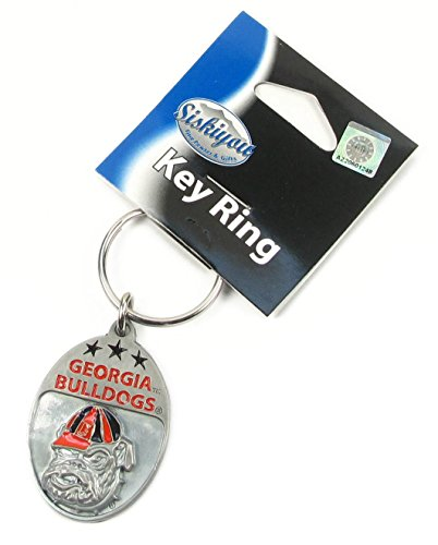 Siskiyou NCAA Georgia Bulldogs Key Chain