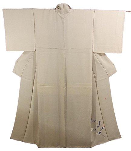 話をする不潔悪因子リサイクル 着物 訪問着 作家物 裾濃 山桜 正絹 袷 裄65cm 身丈157cm