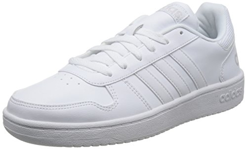 adidas Men's Vs Hoops 2.0 Low-Top Sneakers White (Ftwbla/Ftwbla/Griuno 000) clearance explore sale official site f7AEt