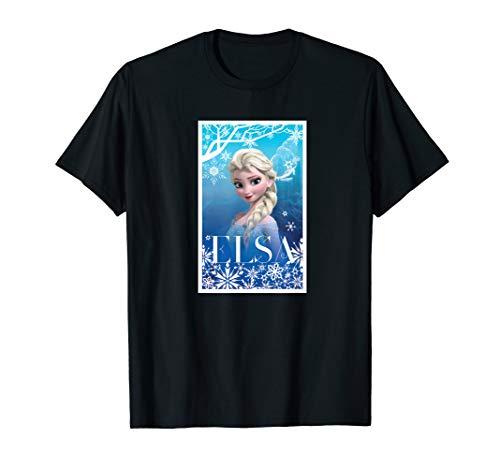 Disney Frozen Elsa Snowflakes T-Shirt -
