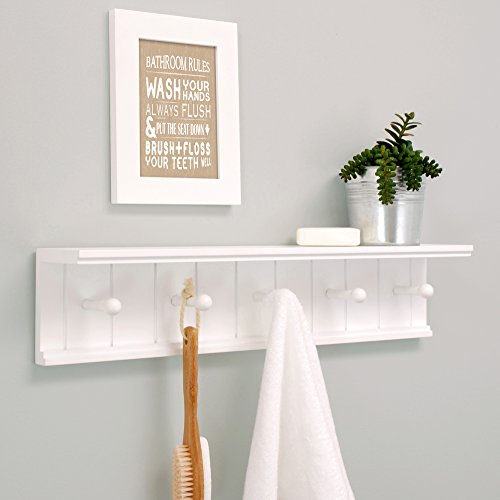 Buy small wall shelves white