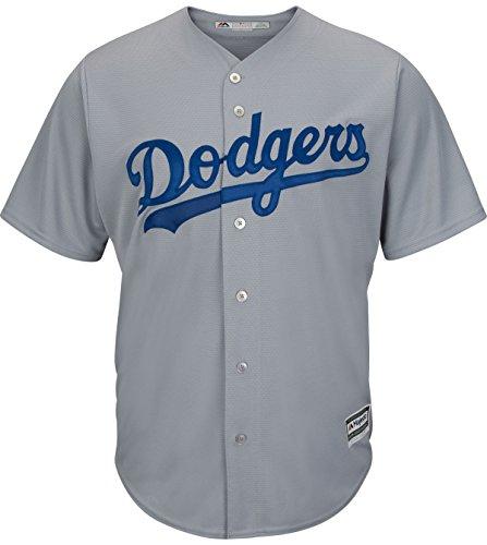 Los Angeles Dodgers Alternate Road Cool Base Men's Jersey (Medium) (Base Jersey Road Cool)