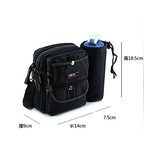 BUSL Escursione Fanny Pack multifunzione sport all'aria aperta degli uomini equitazione borse bollitore borsa a tracolla del messaggero del pacchetto di documenti