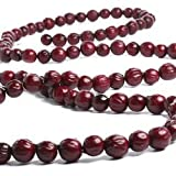 Realistic Dried Look Artificial Cranberries Christmas Tree Garland - 6 Feet Long