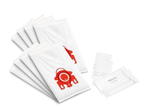 - Miele AirClean 3D XL-Pack FJM Dust Vacuum Bag, White
